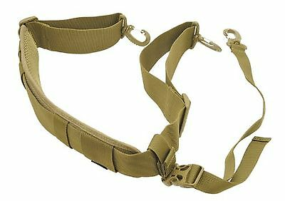 Hazard 4 Deluxe Padded Shoulder Strap with Stabilizer Coyote New