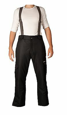 Arctix Men's Convertible Insulated Bib Overall Large Black New