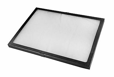 SE JT9212 16-Inch X 12-Inch X 3/4-Inch Display Box with Glass Lid New