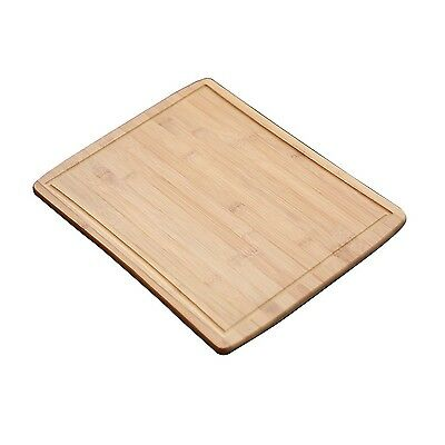 Restaurantware 1 Count Oblong Bamboo Serving Board 17.5 X 13.75-Inch Brown New