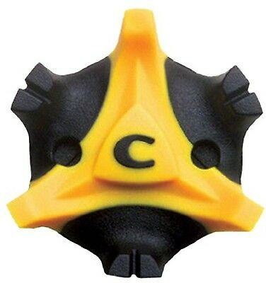 Champ Scorpion Stinger Tri-Lok Golf Spikes 18 Count Black/Yellow New