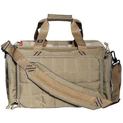 G.P.S. Tactical Range Bag with Insert Tan New