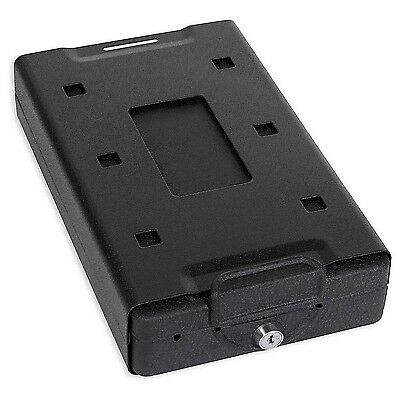 Bulldog Vaults Car Safe with Key Lock Mounting Bracket and Cable (Exterio... New