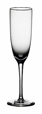Noritake Palais Platinum Champagne Flute Clear Set of 4 New