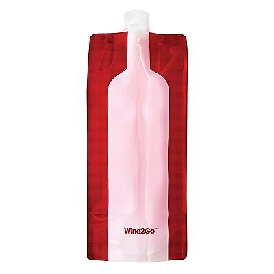 Wine2Go - The Foldable Wine Flask. Holds An Entire Bottle Of Wine Wine2Go New