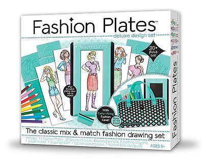 Kahootz Fashion Plates Deluxe Kit New