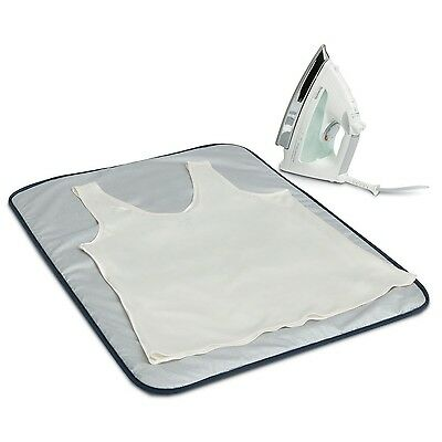 Household Essentials 129 Portable Ironing Blanket - Heat Resistant - Grey 1 New
