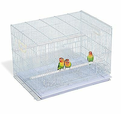"""PawHut D51-026 30"""" Bird Cage Pet Play House Small Finch Parrot Macaw Cock... New"""