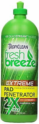 COSMOS Tropiclean Fresh Breeze Stain and Odor Pad Penetrator New