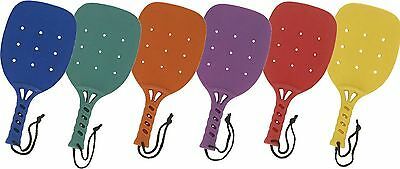 "Champion Sports 15-Inch Paddleball Paddle Set of 6 one of colors 15"" set ... New"