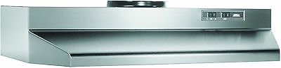 Broan CM130SSN Under-Cabinet Hood Stainless Steel 30-Inch New