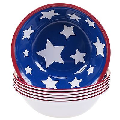 Certified International Corp Stars and Stripes Melamine All Purpose Bowl ... New