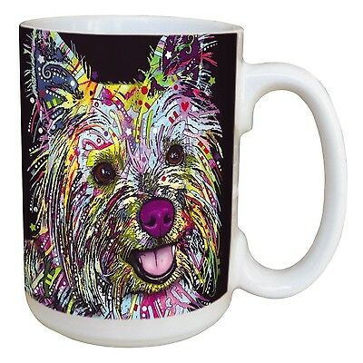 Tree-Free Greetings 46197 Dean Russo Shaggy Tales Ceramic Mug with Full-S... New