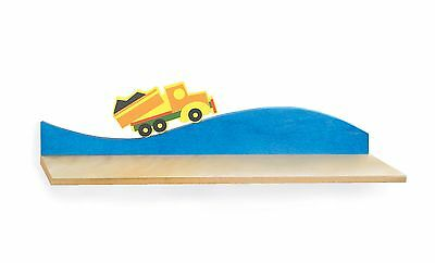 Room Magic RM35-BT Wall Shelf Boys Like Trucks New