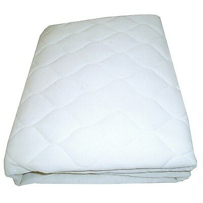 """Babydoll Bedding Cradle Waterproof Mattress Protector - Size: 15""""x33"""" White New"""