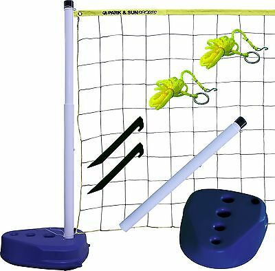 Park & Sun Sports Portable Indoor/Outdoor Swimming Pool Volleyball Net Sy... New