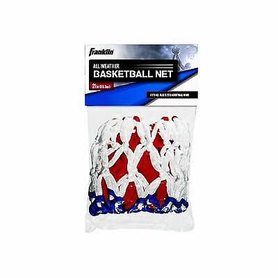 Franklin Sports Basketball Net Red/White/Blue New