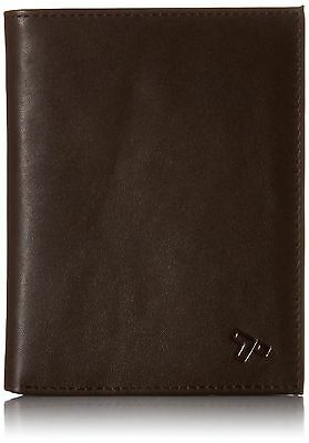 Travelon Safe Id Leather Passport Wallet Brown New