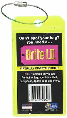 Brite I.D. Neon Green One Size New