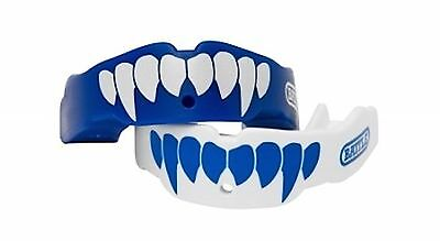 Battle Fang Mouth Guard 2-Pack Blue/White Youth New