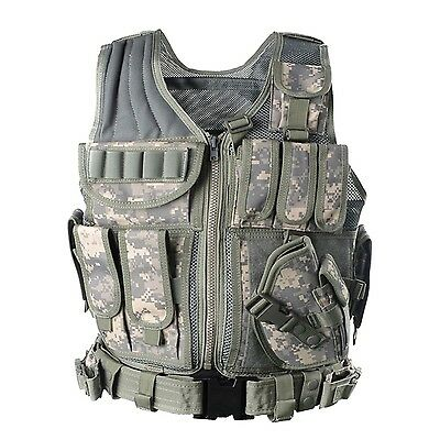 YAKEDA Army fans Tactical Vest CS Field Outdoor Equipment Supplies Breath... New