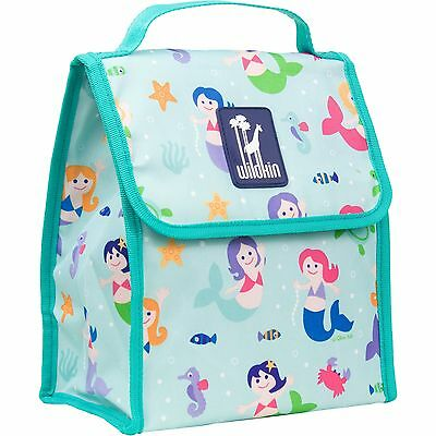 Wildkin Olive Kids Mermaids Munch N Lunch Bag New