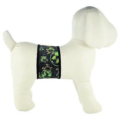 PlayaPup Dog Belly Band for Incontinence/Training X-Small Global Green New