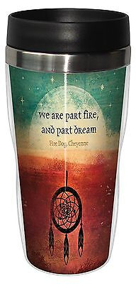 Tree-Free Greetings 25628 Angi and Silas Fire and Dream Sip 'N Go Stainle... New