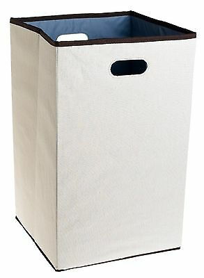 Rubbermaid Configurations Custom Closet Folding Laundry Hamper Natural 23... New