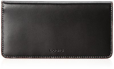 Lodis Audrey Checkbook Case Black One Size New