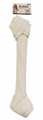 Dogit Beefhide Knotted Bone Jumbo 45.7-50.8cm 18-20-Inch 600gm 21.2-Ounce... New