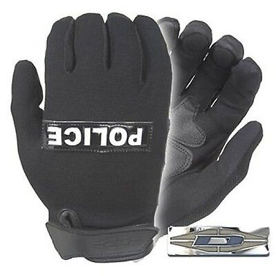 Damascus Gear MX10RPLG Nexstar I Lightweight Duty Gloves with POLICE Refl... New