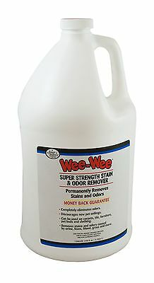 Four Paws 100202131 Wee-Wee Stain and Odor Remover Gallon 128-Ounce New