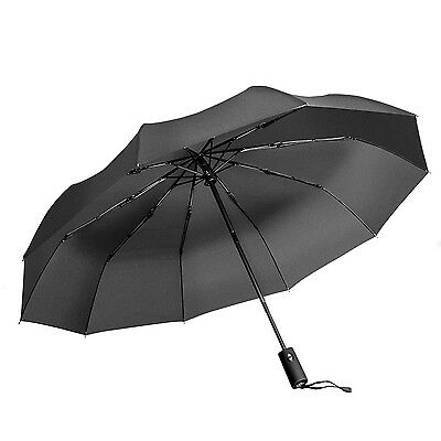 "Travel Umbrella by Vanwalk ""Dupont Teflon"" - Windproof Sturdy Umbrella wi... New"
