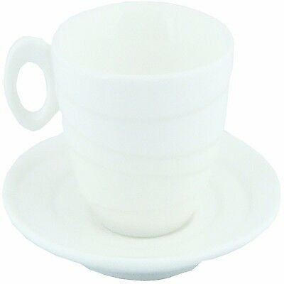 Spinning Collection 90 CC Espresso Cup Saucer New