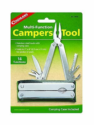 Coghlan's 9690 Campers Multi-Function Tool New