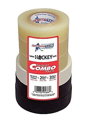 Cantech 6-Pack Combo 946-66 Hockey Tape New