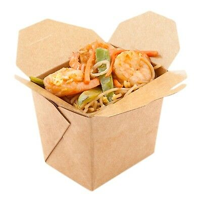 Restaurantware Bio Noodle Take Out Container (200 Count) Medium Brown New