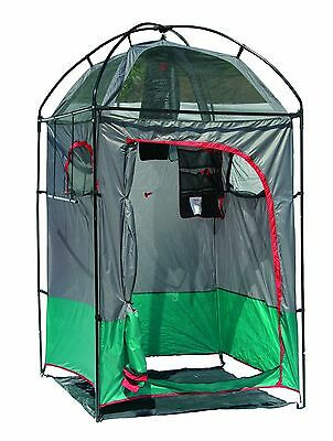 Texsport Deluxe Camp Shower/Shelter Combo Green/Char/Chili New