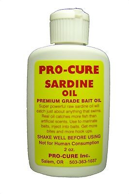 Pro-Cure Bait Scents B8-SAR Sardine Oil 8-Ounce New