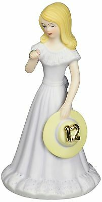 Enesco Growing Up Girls Blonde Age 12 Figurine 5.75-Inch New