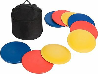 Trademark Innovations Disc Golf Set with Disc Golf Bag 9 Discs New