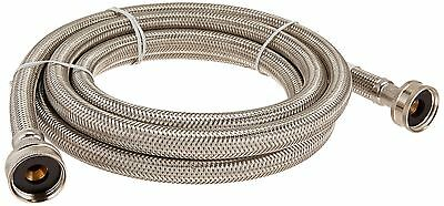 CERTIFIED APPLIANCE WM96SS Braided Stainless Steel Washing Machine Hose (... New