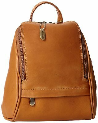 David King & Co. Convertible Mini Backpack Sling Tan One Size New
