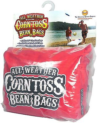 Driveway Games All Weather Corntoss Bean Bags Red New