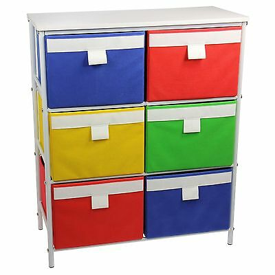 Household Essentials Metal Storage Unit with 3 Shelves and 6 Removable Mu... New