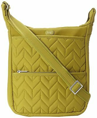 Lug Compass Shoulder Pouch Grass Green One Size New