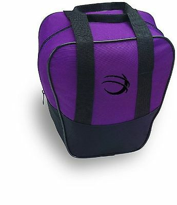 BSI Nova Single Ball Tote Bag Black/Purple New