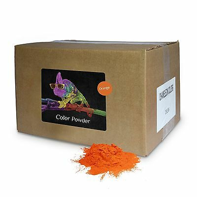 Color Powder Orange 25lb box New