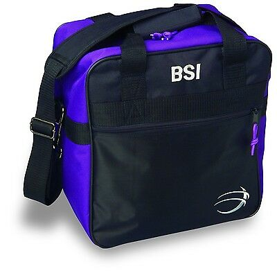 BSI Solar II Single Ball Tote Bag Black/Purple New